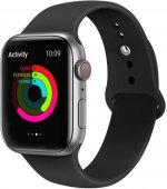 Curea Apple iWatch 38-40 silicon negru